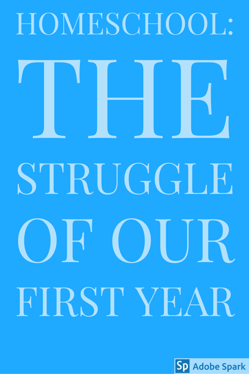 Homeschool_the struggle pin image