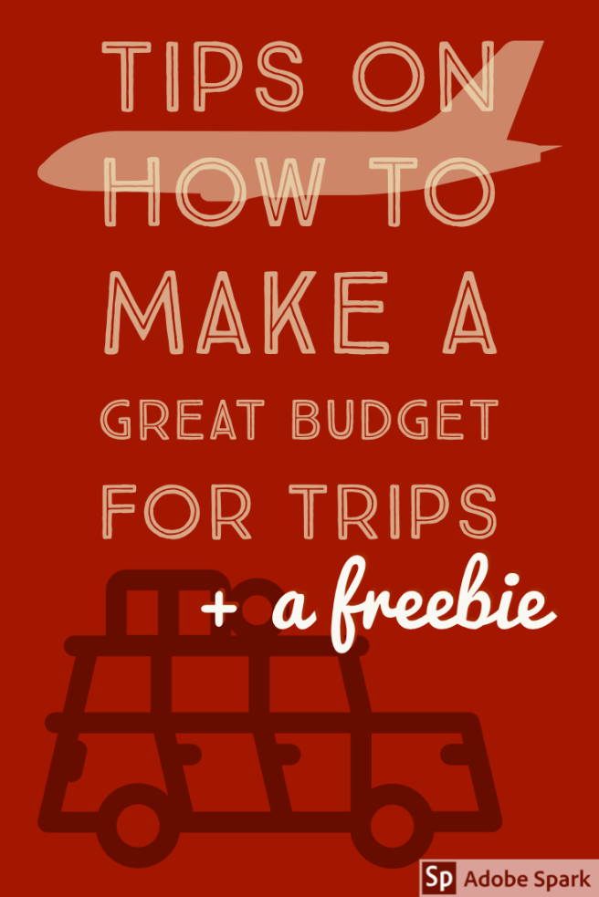 Budgeting for trips image