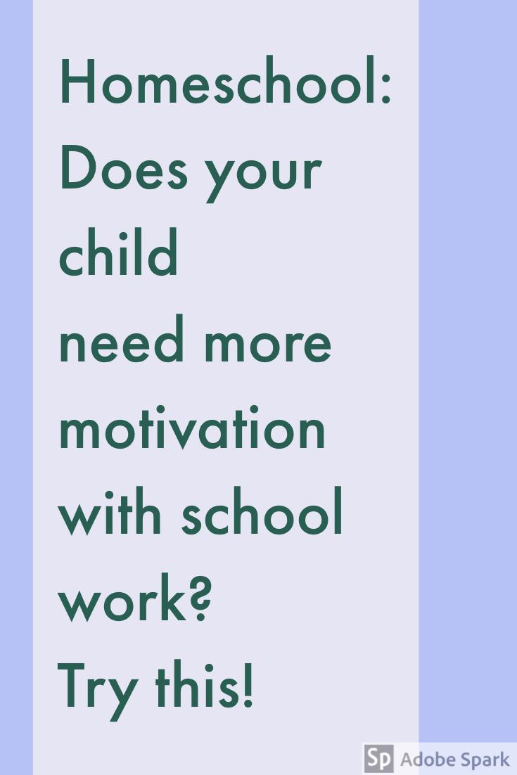 Child Need More Motivation Pin Image