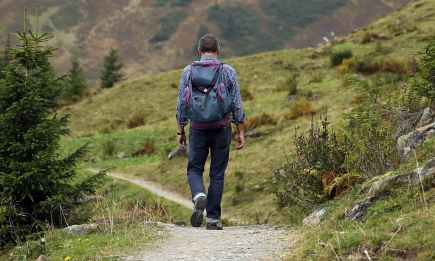 landscape nature mountain hiking