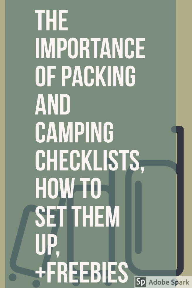 Packing Checklist Pin Image
