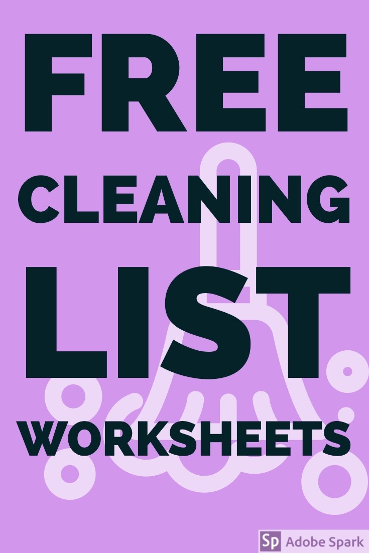 Cleaning Lists Pin Image