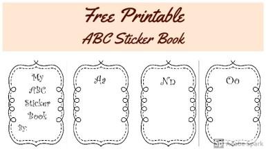 ABC Sticker Book Post image