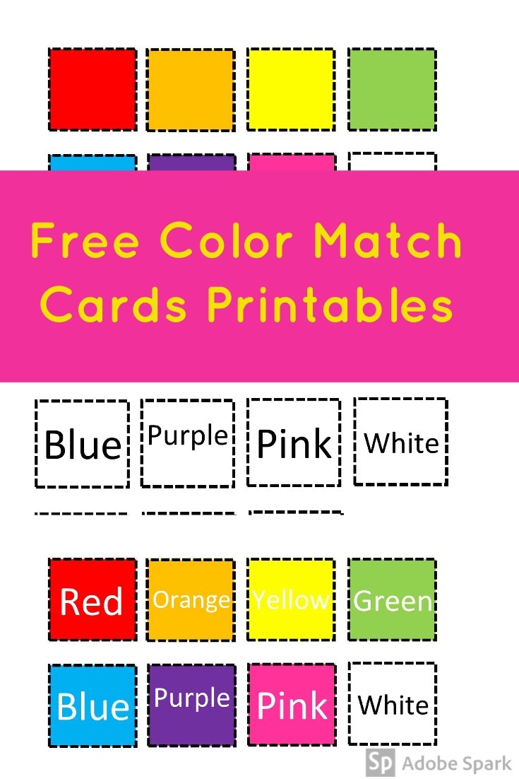 Color Match Cards Pin Image