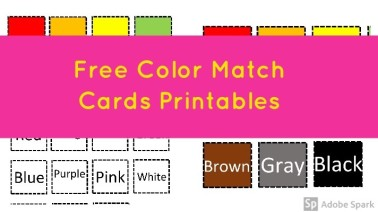 Color Match Cards Post Image