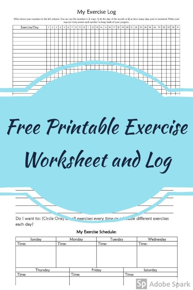 Exercise Log Pin Image