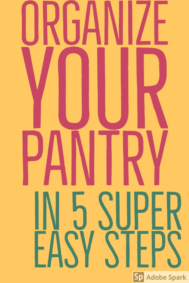 Organize your pantry pin image