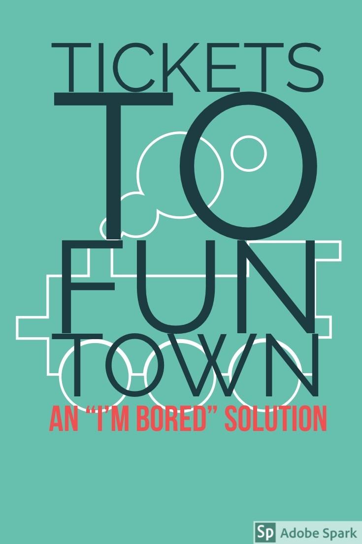 Tickets to Fun Town Pin Image