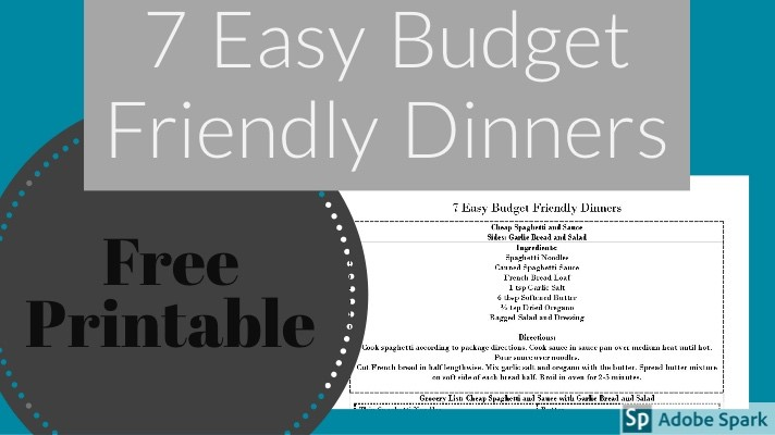 7 easy budget friendly dinners always doin something