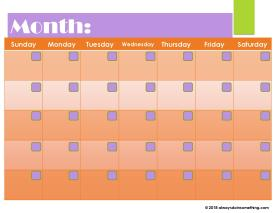 Blank Calendar-page-002