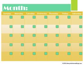 Blank Calendar-page-003