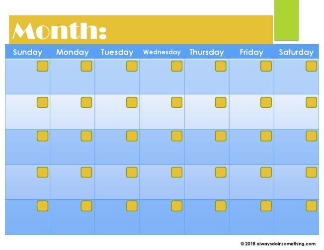 Blank Calendar-page-004