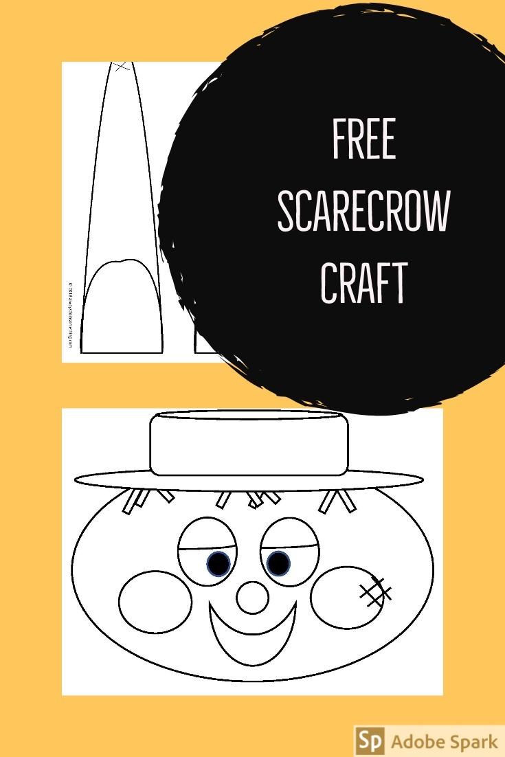 Scarecrow Craft Pin Image