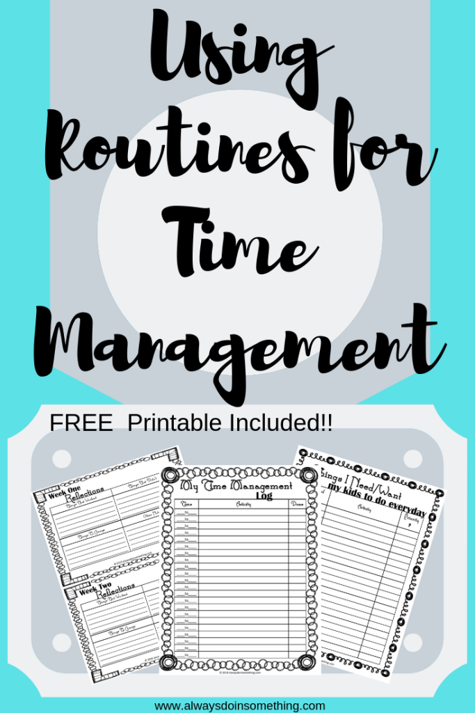 Using Routines for Time Management Pin Image
