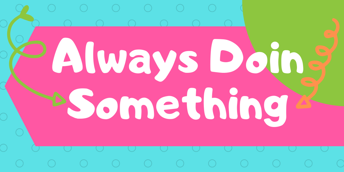 Always Doin Something Site Logo